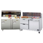 48 inch Commercial Sandwich / Salad Preparation Refrigerators