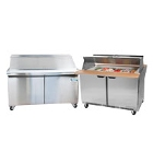 60 inch Commercial Sandwich / Salad Preparation Refrigerators