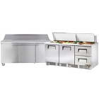 72 inch Commercial Sandwich / Salad Preparation Refrigerators