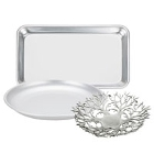 Aluminum Serving and Display Platters / Trays