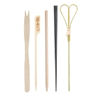 Bamboo, Wooden, and Plastic Skewers