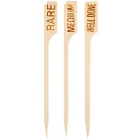 Bamboo Steak Marker Skewers