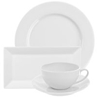 Bright White China Dinnerware