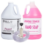 Bulk Liquid Hand Soaps & Dispensers