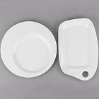 Cardinal Caracter White Porcelain Dinnerware