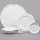 Cardinal Zenix White Porcelain Dinnerware