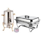 Chafers, Chafing Dishes, and Chafer Accessories