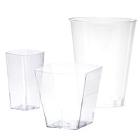 Clear Plastic Tumblers