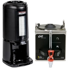 Commercial Satellite Coffee Servers and Coffee Warmers