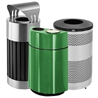Decorative Outdoor Trash Cans