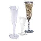 Disposable Plastic Champagne Glasses