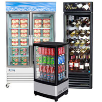 Display Refrigerator Commercial Display Refrigerator
