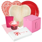 Disposable Valentine's Day Party Supplies