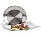 Double Wall Stainless Steel Serving and Display Platters / Trays