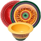 Elite Global Solutions Hot Cha Cha Melamine Dinnerware
