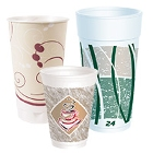 Foam Drinking Cups with Design