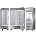 Glass Door Reach-In Freezers