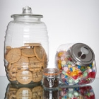 Glass Food Storage Jars and Ingredient Canisters