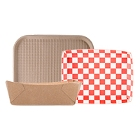 Biodegradable, Compostable Food Trays