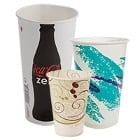 Green Paper Cold Cups