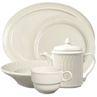 Homer Laughlin Gothic Ivory (American White) China Dinnerware