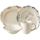 Homer Laughlin Cottage Scalloped Edge China Dinnerware