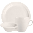 Homer Laughlin Narrow Rim Ivory (American White) China Dinnerware