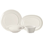 Homer Laughlin RE-21 Ivory (American White) China Dinnerware