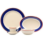 Homer Laughlin Sovona Rolled Edge China Dinnerware
