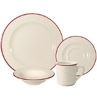 Homer Laughlin Lydia Maroon China Dinnerware