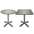 Indoor Aluminum Restaurant Tables