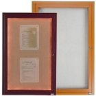 Lighted Bulletin Board Cabinets