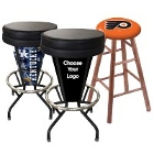 Logo and Sports Bar Stools