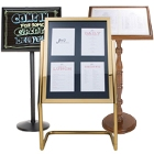 Menu Stands and Sign Stands