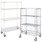 Metro Super Erecta Mobile Wire Shelving Units