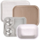 Molded Fiber / Pulp Food Trays