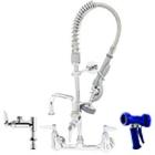 Pre-Rinse Faucets and Pre-Rinse Spray Valves