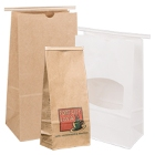 Recloseable Tin Tie and Coffee / Cookie Paper Bags