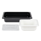 Regular Temperature Plastic Food Pans & Lids