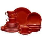 Scarlet Homer Laughlin Fiesta Dinnerware