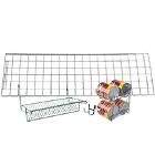 Shelving Grid Enclosure Panels and Components