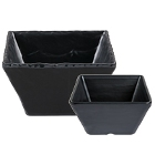 Slate and Faux Slate Serving and Display Bowls