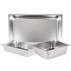 Steam Table Food Pans - Standard Weight Stainless Steel