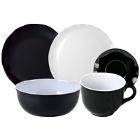 Thunder Group Black Pearl Melamine Dinnerware