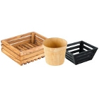 Wooden Bread Baskets