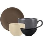 World Tableware Driftstone Colorful Porcelain Dinnerware