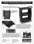 Carlisle cart assembly instructions