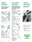 Unger Window Cleaning Brochure