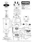 7015N, 7015, 7015C Parts Diagram