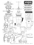 MX1200XT, MX1200XTP, MX1200XTS Parts Diagram